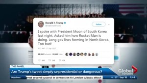 Are trump's tweets simply not presidential or are they dangerous?